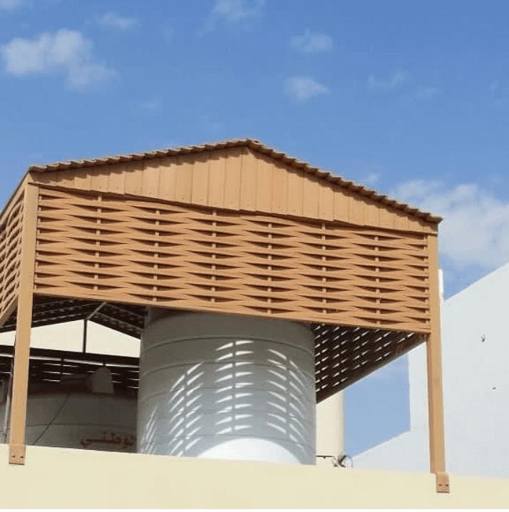 مظلات تغطية خزانات مياه الاسطح في الرياض